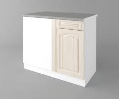 Долен кухненски шкаф за ъгъл Астра - Крем 7