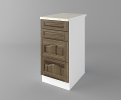 Долен кухненски шкаф с четири чекмеджета Астра - Ким 4