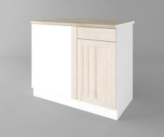 Долен кухненски шкаф за ъгъл Калатея - Крем 1