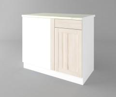 Долен кухненски шкаф за ъгъл Калатея - Крем 2