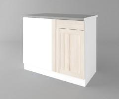 Долен кухненски шкаф за ъгъл Калатея - Крем 3