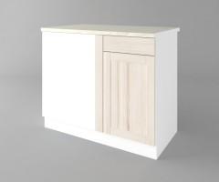 Долен кухненски шкаф за ъгъл Калатея - Крем 4