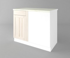 Долен кухненски шкаф за ъгъл Калатея - Крем 6