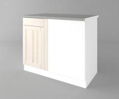 Долен кухненски шкаф за ъгъл Калатея - Крем 7
