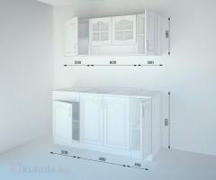 Кухненски комплект Астра Крем - L 160 cm 2