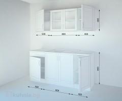 Кухненски комплект Калатея Крем - L 170 cm 2