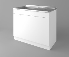 Долен кухненски шкаф с мивка - с едно работещо чекмедже Нарцис 1