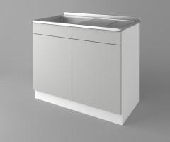 Долен кухненски шкаф с мивка - с едно работещо чекмедже Мирта 1