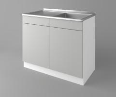 Долен кухненски шкаф с мивка - с едно работещо чекмедже Мирта 2