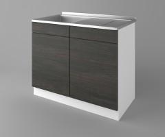 Долен кухненски шкаф с мивка - с едно работещо чекмедже Вега 1