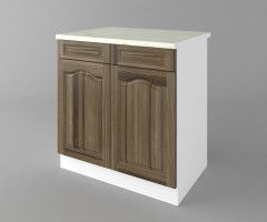Долен кухненски шкаф с две чекмеджета и две врати Астра - Ким 2