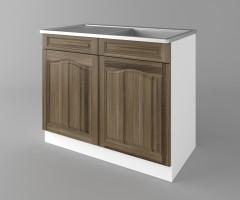Долен кухненски шкаф с мивка - с едно работещо чекмедже Астра - Ким 2
