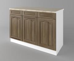 Долен кухненски шкаф с три чекмеджета и три врати Астра - Ким 1