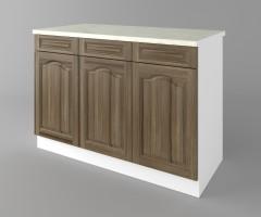 Долен кухненски шкаф с три чекмеджета и три врати Астра - Ким 2