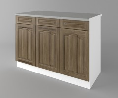 Долен кухненски шкаф с три чекмеджета и три врати Астра - Ким 4