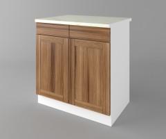 Долен кухненски шкаф с две чекмеджета и две врати Калатея - Канела 1