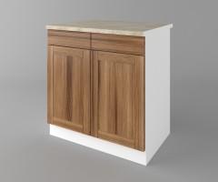 Долен кухненски шкаф с две чекмеджета и две врати Калатея - Канела 4