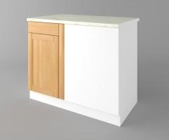 Долен кухненски шкаф за ъгъл  Калатея - Натурална 1
