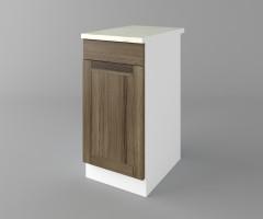 Долен кухненски шкаф с чекмедже и една врата Калатея - Ким 1