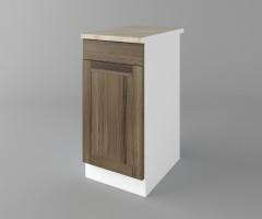 Долен кухненски шкаф с чекмедже и една врата Калатея - Ким 2