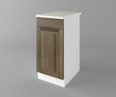 Долен кухненски шкаф с чекмедже и една врата Калатея - Ким 3