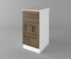 Долен кухненски шкаф с четири чекмеджета Калатея - Ким 2