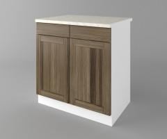 Долен кухненски шкаф с две чекмеджета и две врати Калатея - Ким 3