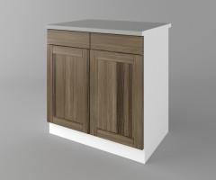 Долен кухненски шкаф с две чекмеджета и две врати Калатея - Ким 4