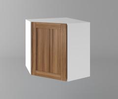 Горен кухненски шкаф за вътрешен ъгъл с една врата Калатея - Канела 1