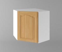 Горен кухненски шкаф за вътрешен ъгъл с една врата  Астра - Натурална 1