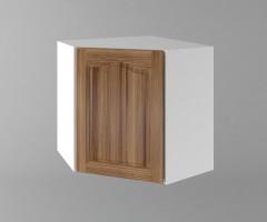 Горен кухненски шкаф за вътрешен ъгъл с една врата Астра - Канела 1