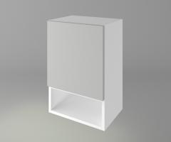 Горен кухненски шкаф с една врата и ниша Мирта 1