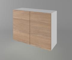 Горен кухненски шкаф с две врати Поларис 1